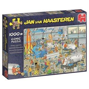 Jan van Haasteren - Technische Höhepunkte - 1000 Teile Puzzle