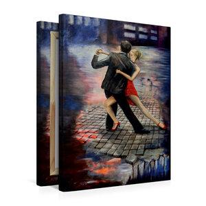 Premium Textil-Leinwand 50 cm x 75 cm hoch Tango Infernale