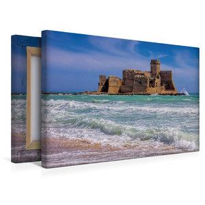 Premium Textil-Leinwand 45 cm x 30 cm quer Fortezza di Le Castel