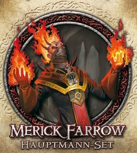 Asmodee FFGD1308 - Descent 2. Edition: Merick Farrow Hauptmann-S