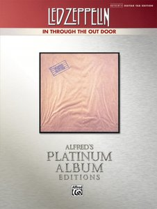 Led Zeppelin -- In Through the Out Door Platinum Guitar: Authent