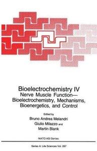 Bioelectrochemistry IV