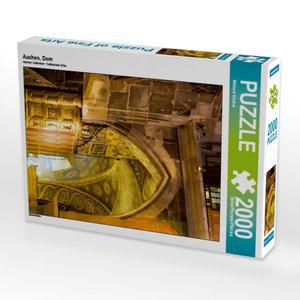 Aachen, Dom 2000 Teile Puzzle hoch