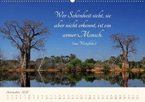 AFRIKA mit einem Hauch von Poesie (Wandkalender 2020 DIN A2 quer