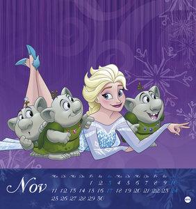 Eiskönigin Postkartenkalender - Kalender 2019