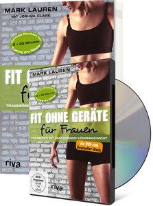 Fit ohne Geräte für Frauen (Buch + DVD - Bundle)