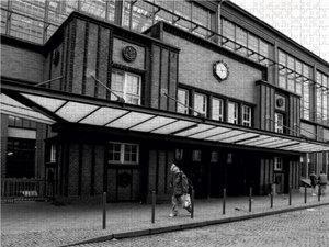 Der ehemalige Checkpoint in der Friedrichstraße 1000 Teile Puzzl