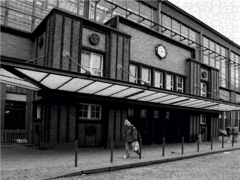 Der ehemalige Checkpoint in der Friedrichstraße 1000 Teile Puzzl - zum Schließen ins Bild klicken