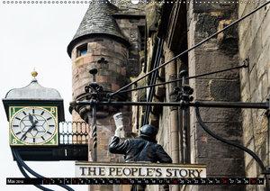 Entdecke Edinburgh (Wandkalender 2019 DIN A2 quer)