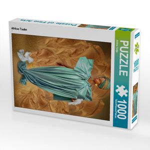 CALVENDO Puzzle Afrikas Taube 1000 Teile Lege-Größe 48 x 64 cm F