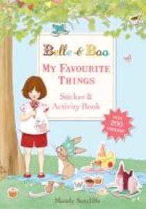 Belle & Boo My Favourite Things: A Sticker and Activity Book