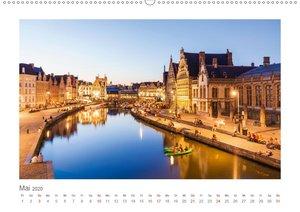 Brüssel und Flandern Impressionen (Wandkalender 2020 DIN A2 quer
