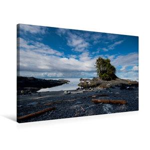 Premium Textil-Leinwand 75 cm x 50 cm quer Botany Bay