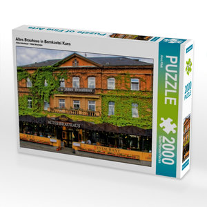 Altes Brauhaus in Bernkastel Kues 2000 Teile Puzzle quer