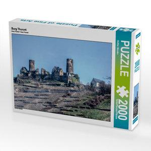 Burg Thurant 2000 Teile Puzzle quer