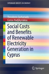 Social Costs and Benefits of Renewable Electricity Generation in