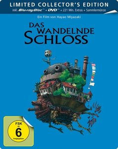 Das wandelnde Schloss BD+DVD (Limited Steelbook