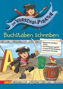 Die Vorschul-Piraten 01 - Buchstaben schreiben
