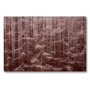 Premium Textil-Leinwand 90 cm x 60 cm quer Gansfelsen