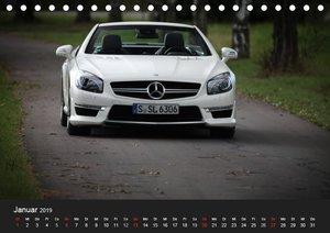 Mercedes-Benz SL 63 AMG (Tischkalender 2019 DIN A5 quer)