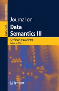 Journal on Data Semantics III