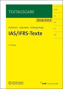 IAS/IFRS -Texte 2018/2019