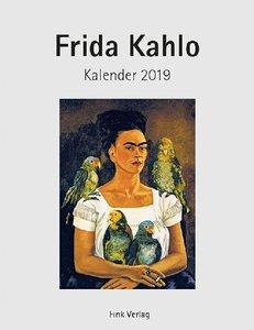 Frida Kahlo 2019. Kunstkarten-Einsteckkalender