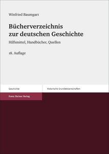 Bücherverzeichnis zur deutschen Geschichte