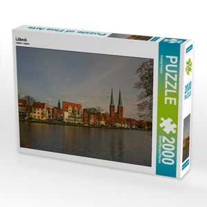 CALVENDO Puzzle Lübeck 2000 Teile Lege-Größe 90 x 67 cm Foto-Puz