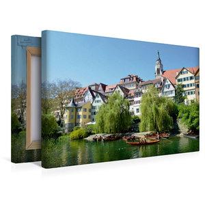 Premium Textil-Leinwand 45 cm x 30 cm quer Tübingen
