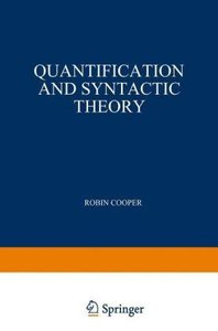Quantification and Syntactic Theory