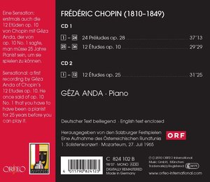 24 Preludes op.28,12 Etudes op.10 & 25