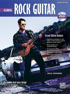 Complete Rock Guitar Method: Beginning Rock Guitar, Book & DVD-R
