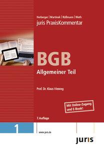 juris Praxiskommentar BGB Gesamtausgabe / Allgemeiner Teil