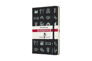 Notizbuch Monopoly Symbole