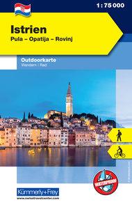KuF Istrien Outdoorkarte 1 : 75.000