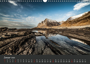 Lofotenküste (Wandkalender 2020 DIN A3 quer)