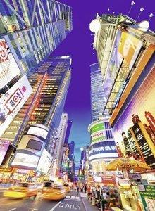 Leuchtender Times Square