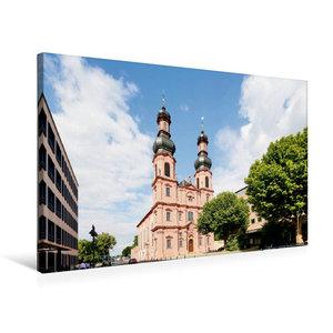 Premium Textil-Leinwand 75 cm x 50 cm quer Sankt Peterkirche