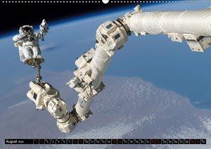 Auftrag im Weltall. Astronauten und Raumfahrt (Wandkalender 2020