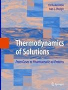 Thermodynamics of Solutions