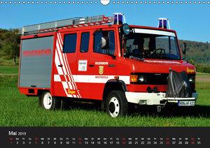 Einsatzfahrzeuge (Wandkalender 2019 DIN A3 quer)