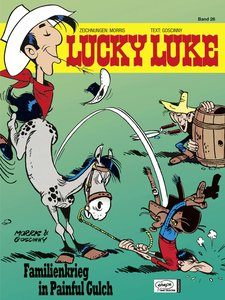 Lucky Luke 26. Familienkrieg in Painful Gulch