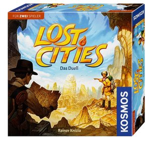 Lost Cities - Fesselnde Expedition für Zwei