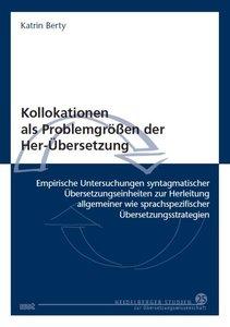 Kollokationen als Problemgrößen der Her-Übersetzung