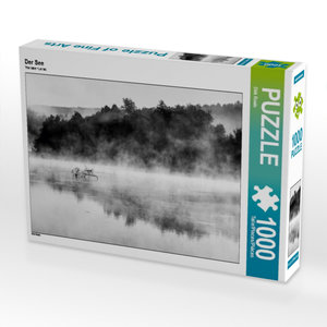 Der See 1000 Teile Puzzle quer