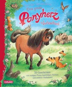 Das große Ponyherz-Vorlesebuch - 33 Geschichten von mutigen Pony