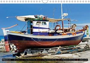 Maritimes - Bunte Boote (Wandkalender 2018 DIN A4 quer)