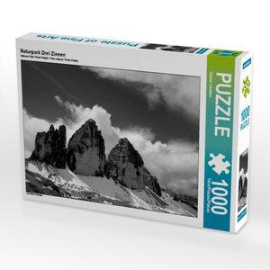 Naturpark Drei Zinnen 1000 Teile Puzzle quer