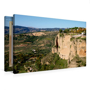 Premium Textil-Leinwand 75 cm x 50 cm quer El Tajo